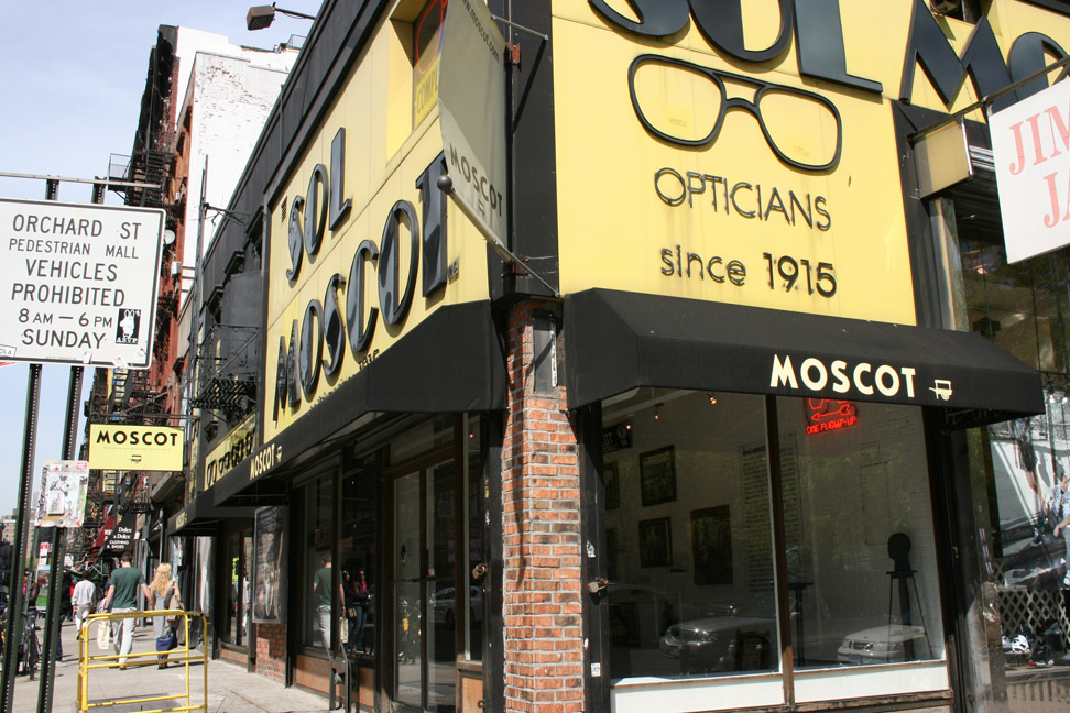 FAMED EYEWEAR PURVEYOR, MOSCOT, PREVIEWS SIX NEW FRAMES FROM ITS
